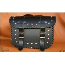 LEATHER SADDLEBAGS S01 *TO...