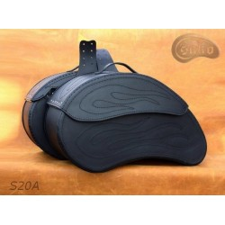 LEATHER SADDLEBAGS S20 A