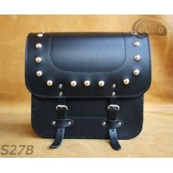 LEATHER SADDLEBAGS S27  *TO...