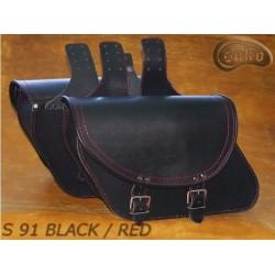 Leather Saddlebags S91...