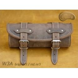 Tool Roll W03 BROWN / ECRU