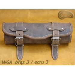 Tool Roll W06 BROWN / ECRU