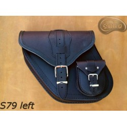 LEATHER SADDLEBAGS S79 WITH...