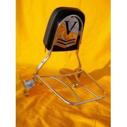 Passenger backrest with...