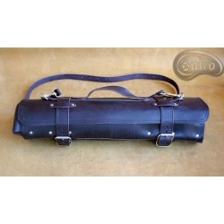 Knife bag / pouch CHOCOLATE