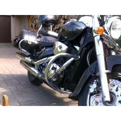 Passenger backrest with luggage rack Suzuki VL 800 Volusia, M 800 Intrudwer, C50 Boulevard
