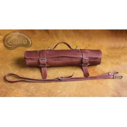 Knife bag / pouch COGNAC