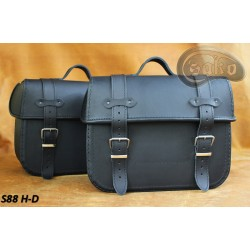 LEATHER SADDLEBAGS S88  *TO...